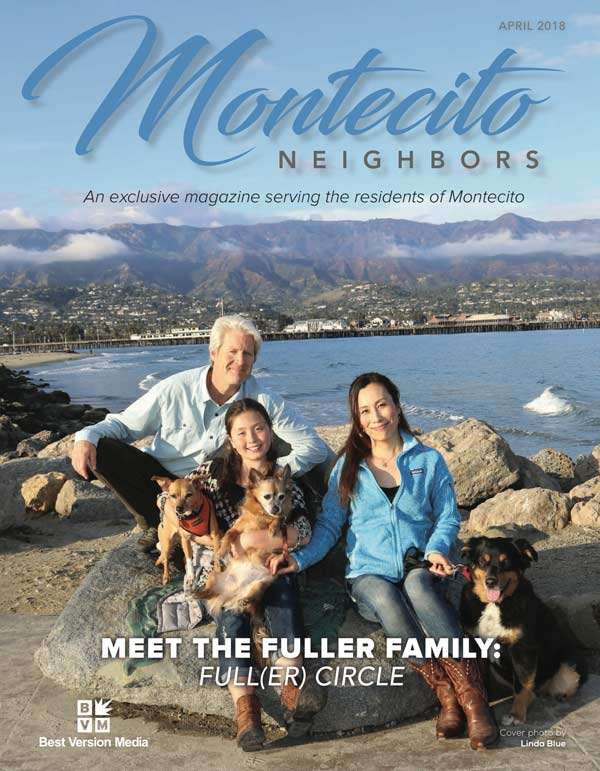 Gary Fuller with his family — Montecito Neighbors